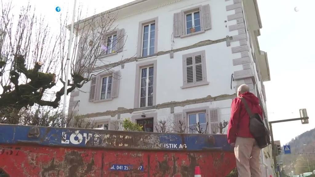 Balkon in Kriens stürzt in die Tiefe