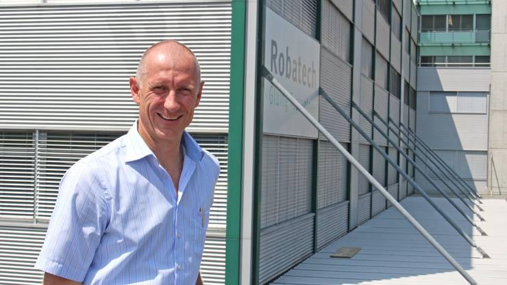Der 52-jährige CEO der Robatech AG, Marcel Meyer, will in ökologische Technologien investieren.