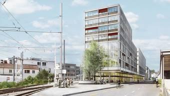 Bis 2024 werden alleine in das neue Gebäude 65 Millionen Franken investiert.