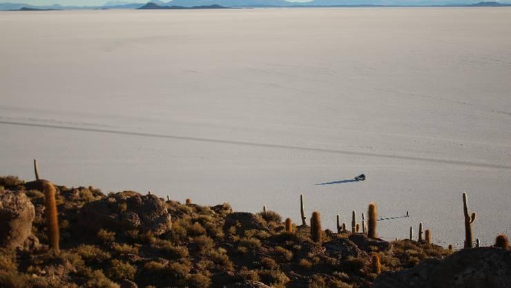Wir machten diese Woche eine 3-Tages-Tour in die Uyuni-Salzwüste.