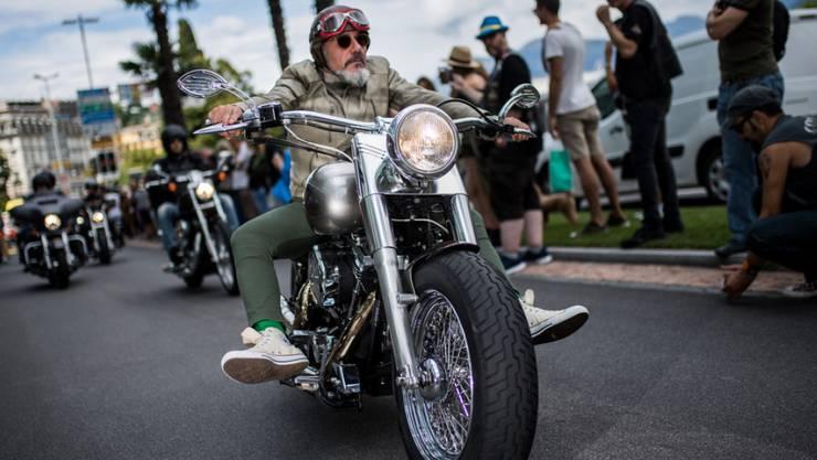 Bei der Parade an den Swiss Harley-Davidson-Days donnerten 4200 dieser amerikanischen Traum-Motorräder durch Lugano.