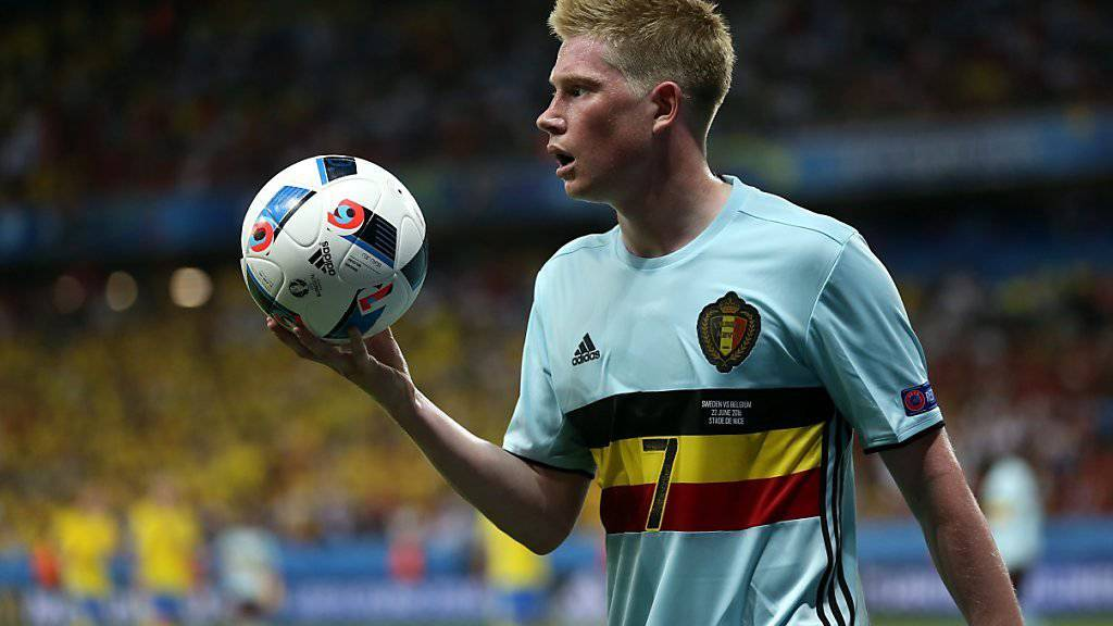 Nach überzeugendem Auftritt gegen Ungarn: Kevin de Bruyne strebt ungeachtet der Verletzungsprobleme in der Abwehr nach dem EM-Titel