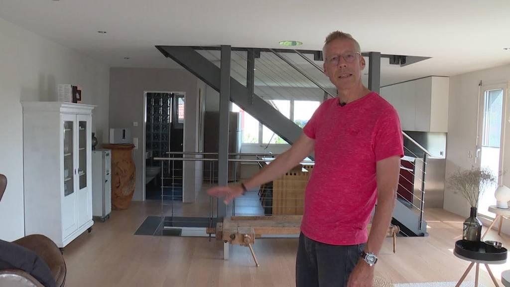 Martin zeigt sein «loftiges» Zuhause in Winterthur