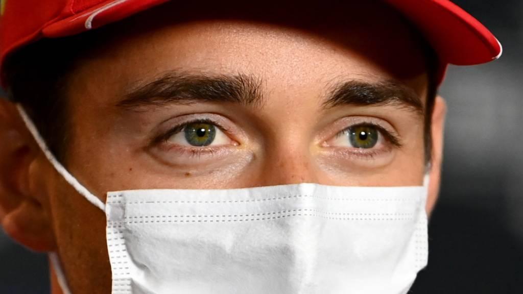 Charles Leclerc startet von ganz vorne zu seinem Heimrennen