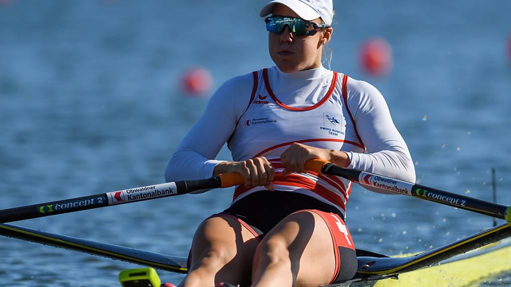 Jeannine Gmelin überzeugte auch im Halbfinal