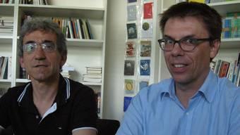 Für Franco Supino, Geschäftsleitungsmitglied der Solothurner Literaturtage, und Pascal Frey, Präsident des Vereins Solothurner Literaturtage, kam Bettina Spoerris Abgang unerwartet – auch jetzt noch.