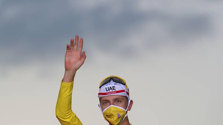 Tadej Pogacar, der Gewinner der Tour de France