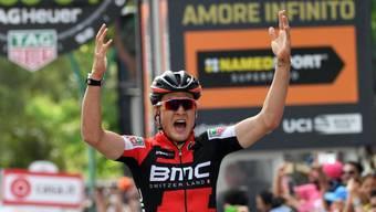Die Freude über den Sieg in der Gesamtwertung ist bei Silvan Dillier gross (Archiv)