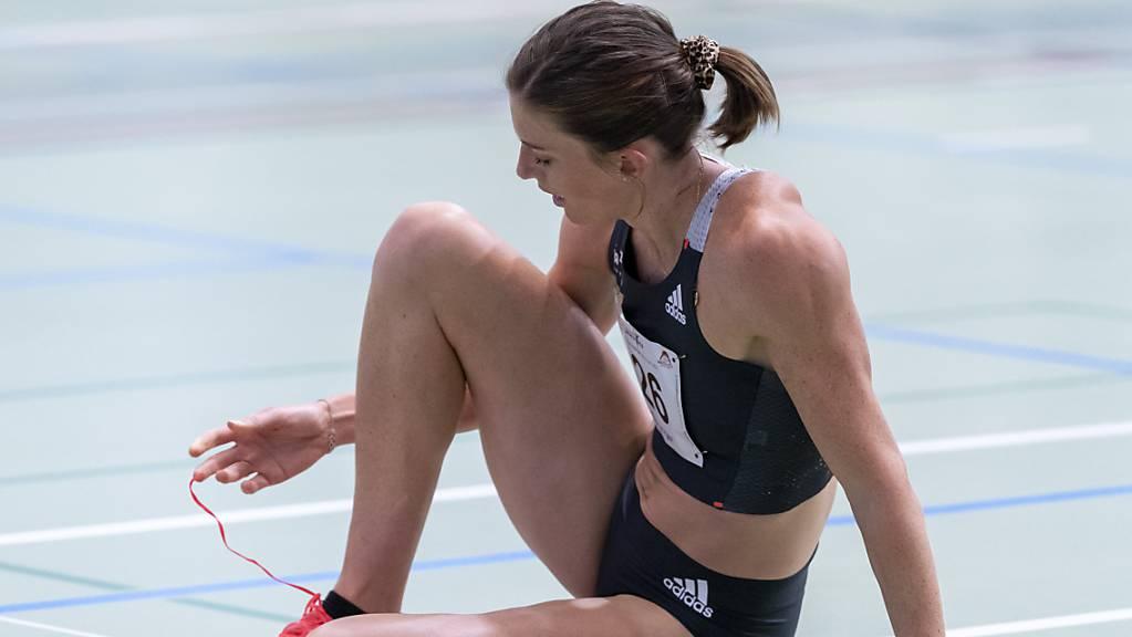 Kämpft im Moment mit schmerzender Achillessehne: Hürdenläuferin Lea Sprunger