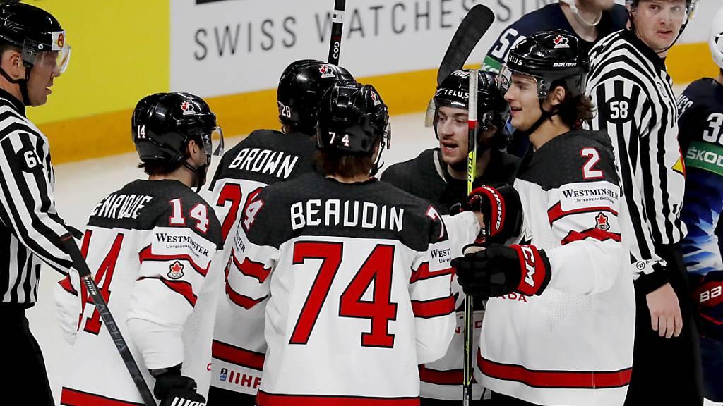 Erneut Finnland und Kanada im WM-Final