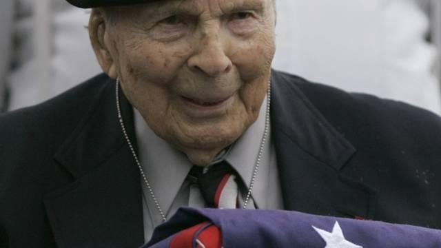 Frank Buckles ist mit 110 Jahren gestorben - Aufnahme aus dem Jahr 2008