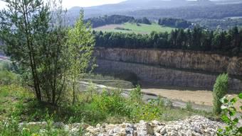 Der Steinbruch Jakobsberg-Oberegg soll erweitert werden.