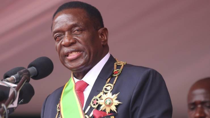 Emmerson Mnangagwa will illegal ins Ausland geschafftes Geld zurück nach Simbabwe bringen (Archiv)