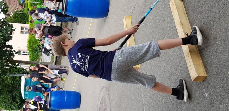 Jugi Spielparcours Unihockey ETF Aarau 2019