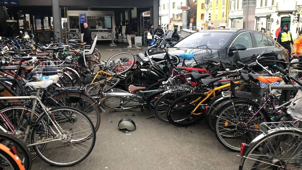 Verkehrsunfall am Zürcher Hauptbahnhof