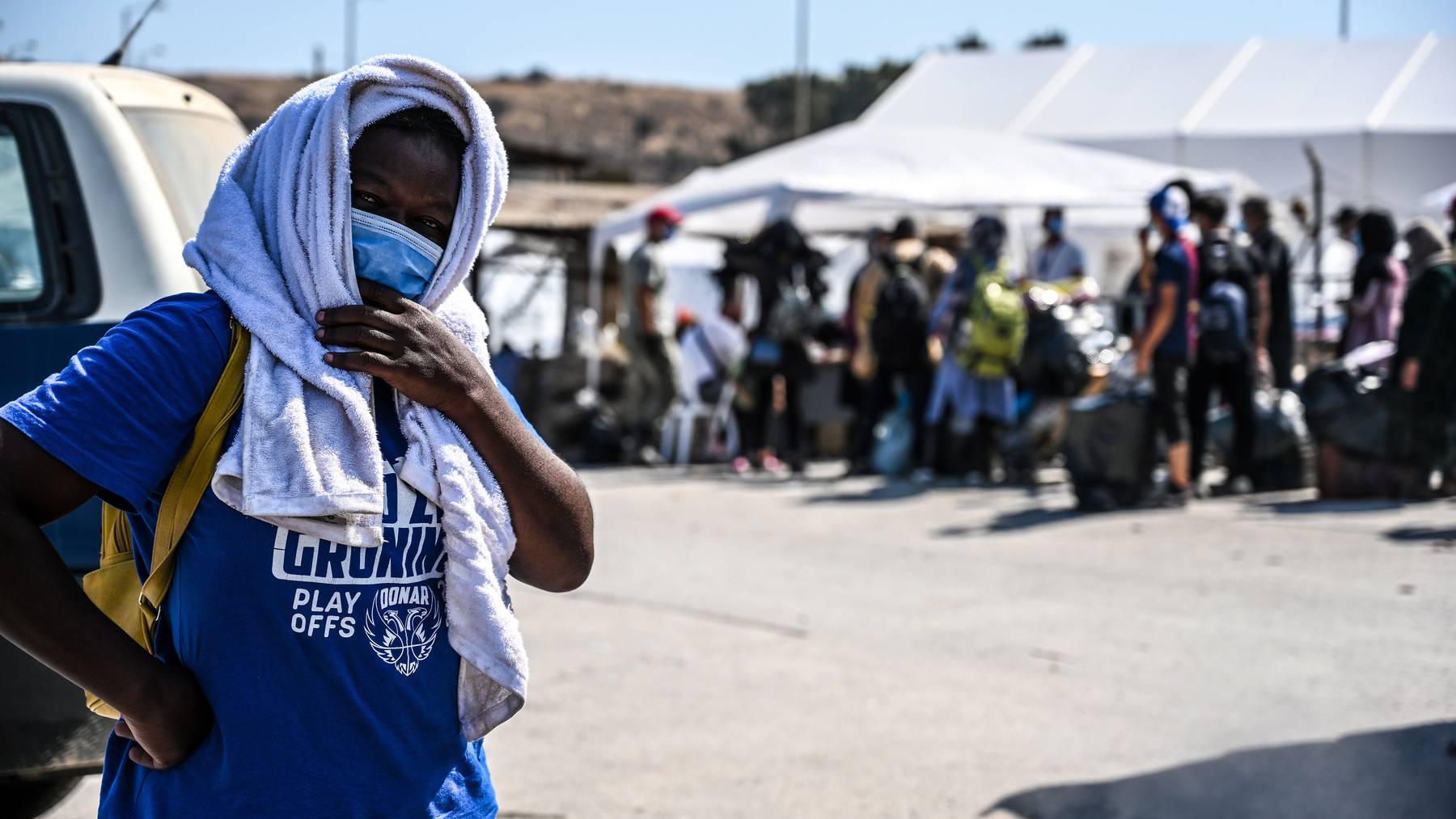 Nach den Bränden im Flüchtlingslager Moria hat sich die Situation auf Lesbos weiter zugespitzt.