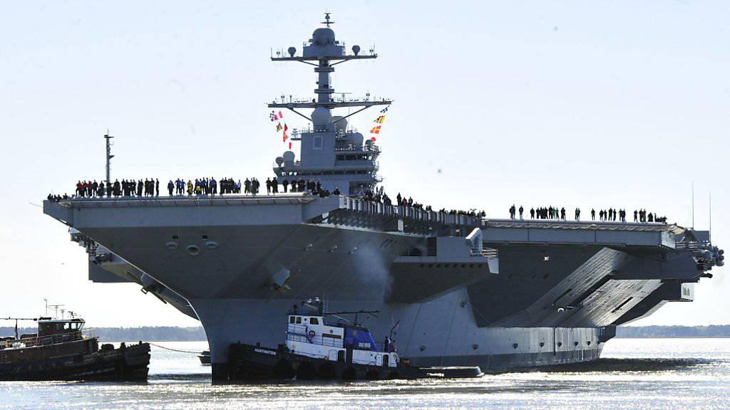 Unterwegs zur Koreanischen Halbinsel: US-Flugzeugträger markieren Präsenz. (Symbolbild)