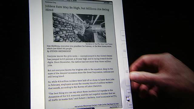 Wurde für Amazon zum Geldesel: Lesegerät Kindle (Archiv)