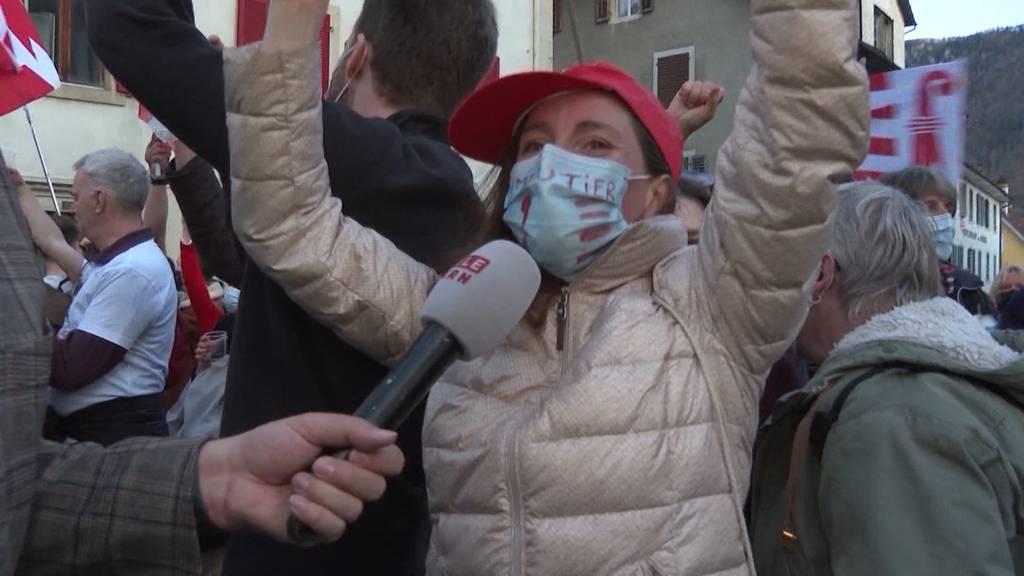 Moutier zum Kanton Jura: Grenzenlose Freude und masslose Enttäuschung