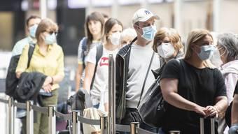 Am Flughafen Zürich wird mehr Frischluft eingesetzt, um das Übertragungsrisiko zu senken.