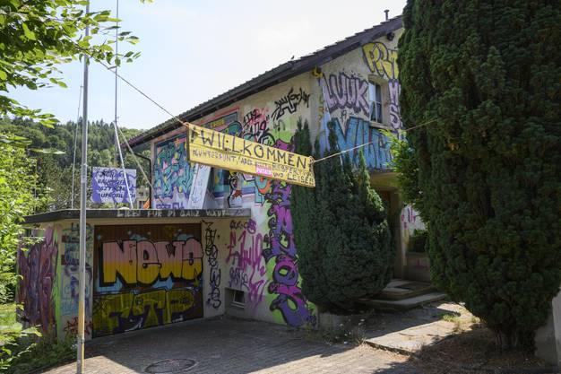 Villa Kunterbunt, temporär kulturell umgenutzt.