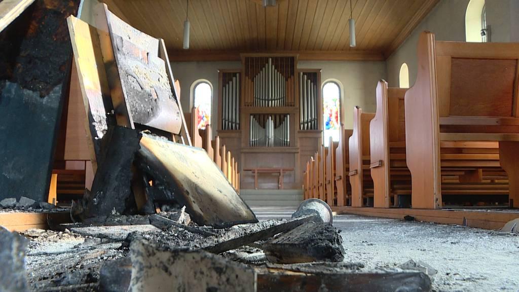 Kirchenfeuer in Oetwil: Unfall oder Brandstiftung?