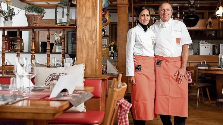 Tung und Mathias Droz bringen das Gränicher Restaurant Löwen wieder auf Kurs.
