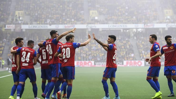 Ein Spitzenduell, das keinen Sieger kennt: Die Young Boys und der FC Basel trennen sich 1:1.