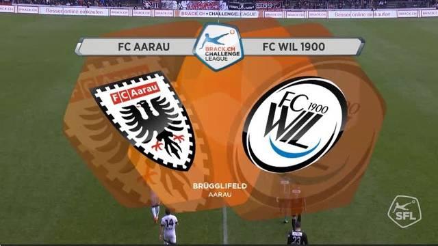 Saison 16/17 FC Aarau- FC Wil - 1:0 - komplett