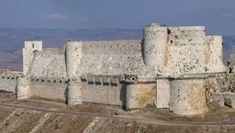 Kreuzritterburg Crac des Chevaliers in Syrien.