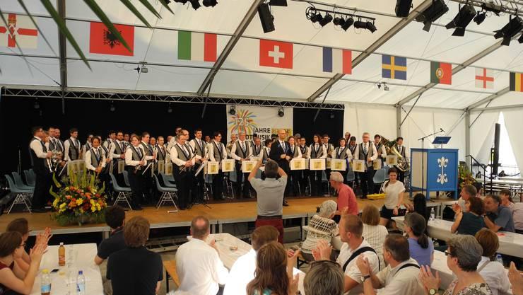 Beim Konzert der Stadtmusik Dietikon gab es viel Applaus.