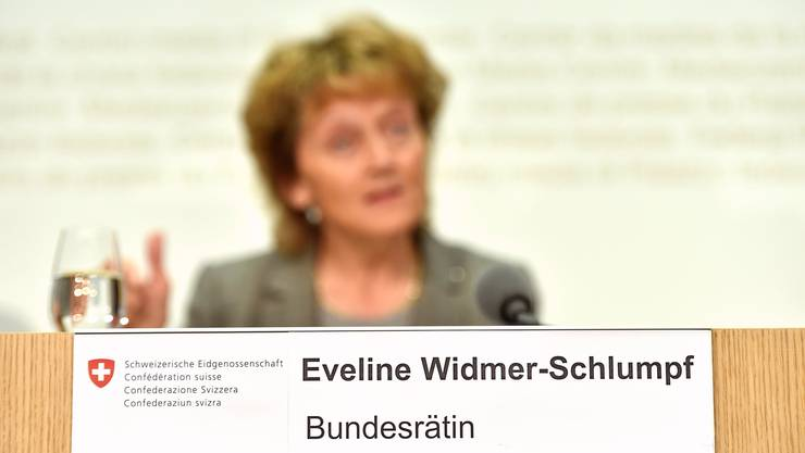 Eveline Widmer-Schlumpf hatte als letzte versucht, die Verrechnungssteuer zu reformieren. (Archivbild)