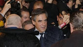 Holte die meisten Stimmen aus der Schweiz: Sieger der ersten Vorwahlrunde für die Präsidentschaftskandidatur in Frankreich, François Fillon.