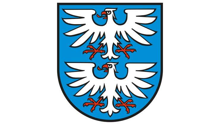 Das Wappen von Wittnau im Fricktal.