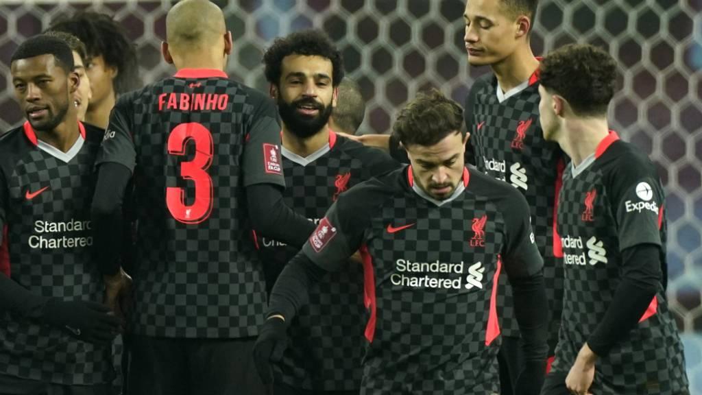 Mohamed Salah strahlt im Cup dank Xherdan Shaqiri als Torschütze