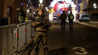 Terror in der Nähe des Strassburger Weihnachtsmarktes fordert zwei Todesopfer. Reuters