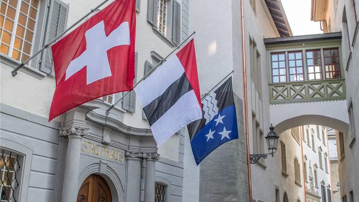 Der Stadtrat von Baden will die Schuldenlast verkleinern – vorerst jedoch ohne Steuerfusserhöhung.
