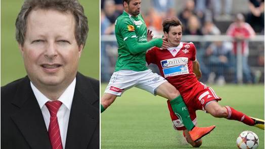 Thomas Bräm, Präsident des FC Baden: «Diese Unwahrheit hat mich in der Tat am meisten getroffen.»