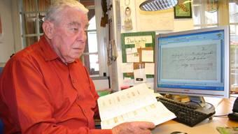 Martin Gasser hielt sein Wissen in einem 400-seitigen Buch fest.