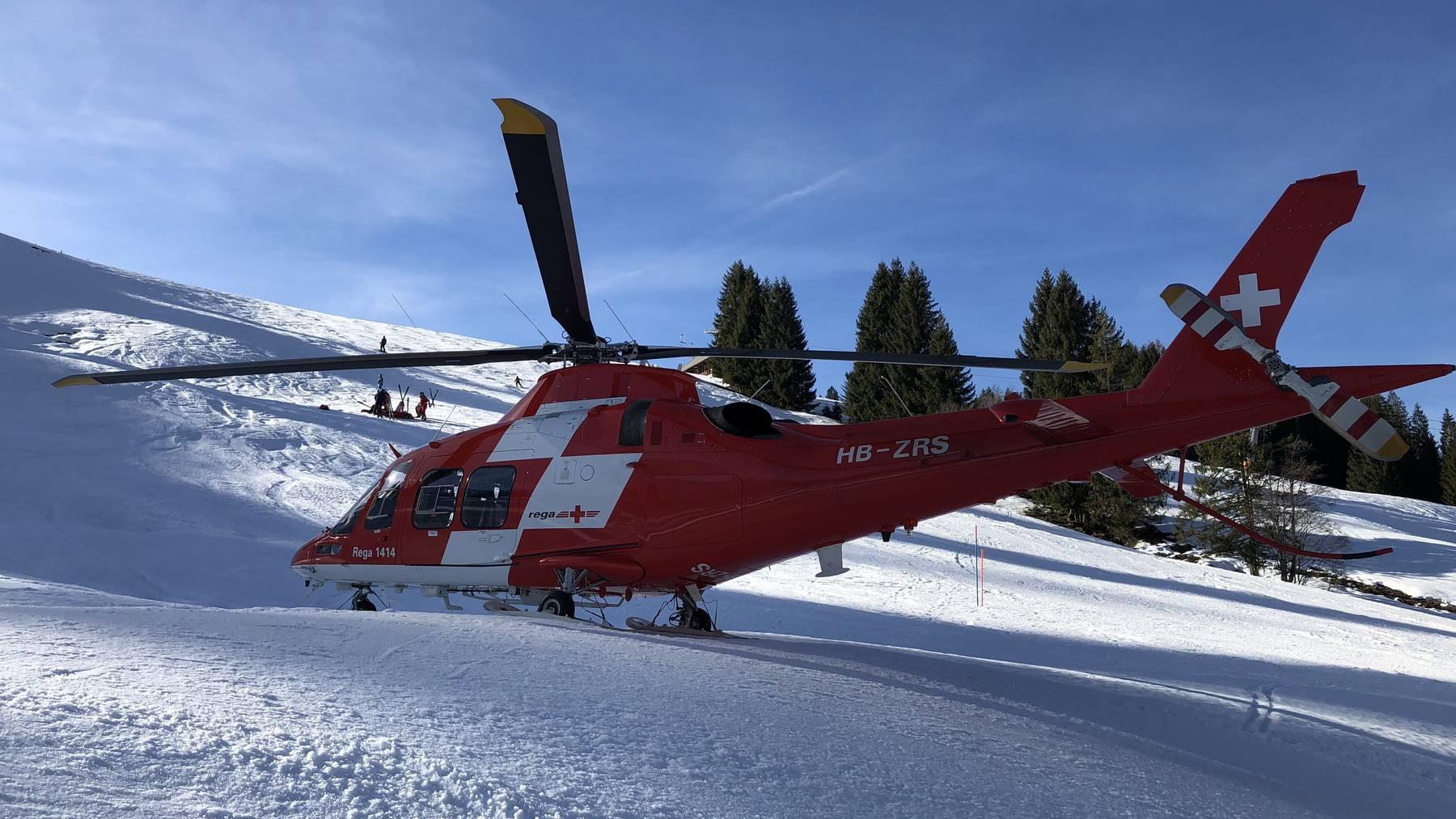 UR: Vier Kinder bei Skiunfall verletzt
