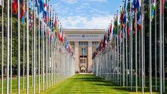 Lockt viele Weltverbesserer an: Der prestigeträchtige Sitz der Vereinten Nationen in Genf.