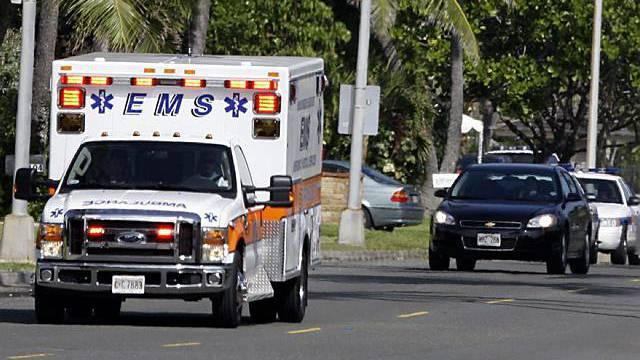 Ambulanz verliess mit Blaulicht die Golf-Anlage