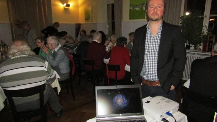 Mirco Saner, Präsident Astronomische Gesellschaft Solothurn