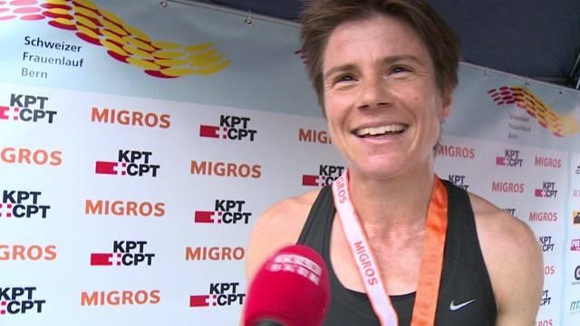 Rang 3 für Berner Läuferin