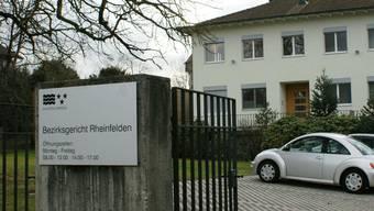 Das Bezirksgericht Rheinfelden verurteilte einen 77-Jährigen.