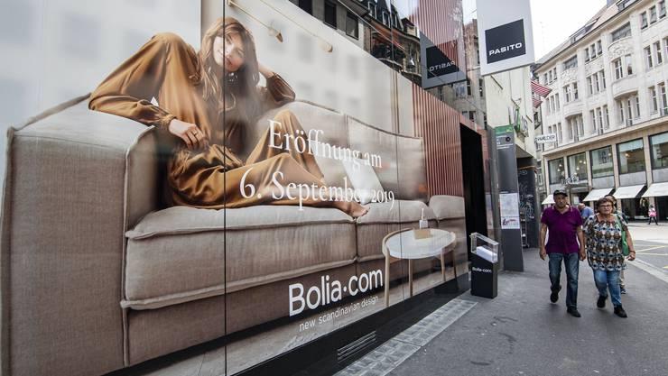 Der dänische Detailhändler «Bolia» zieht an die Basler Schifflände.