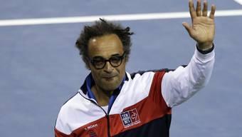 In Genf nicht mehr bei allen beliebt: Frankreichs Fedcup-Captain Yannick Noah