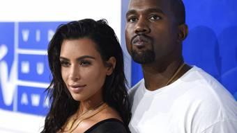 """Kim Kardashian West und Kanye West gaben ihrem dritten Kind den Namen """"Chicago"""". (Archivbild)"""