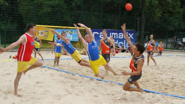 Beachhandball Copaca-Bâle