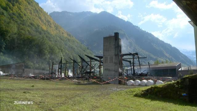 Glarus: Brand in Schreinerei